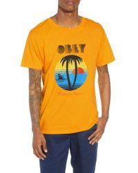 Obey - Problems In Paradise Graphic T-shirt - Lyst