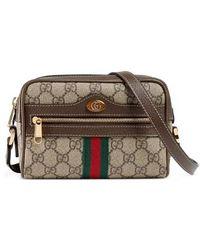 Gucci - Ophidia Small Gg Supreme Canvas Crossbody Bag - Lyst