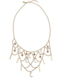 TOPSHOP - Star And Moon Choker - Lyst