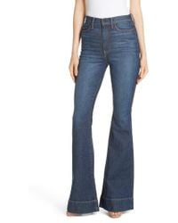 Alice + Olivia - Beautiful High Waist Bell Bottom Jeans - Lyst