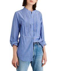 Alex Mill - Stripe Tux Shirt - Lyst