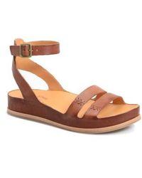 Kork-Ease Nara Banded Suede Sandals g7yvEeFi0