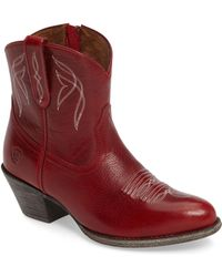Ariat - Darlin Short Western Boot - Lyst