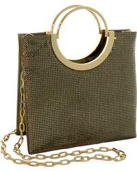 Whiting & Davis - Nolita Tote Bag - Metallic - Lyst