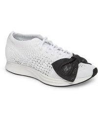 Comme des Garçons   X Nike Bow Flyknit Racer Sneaker   Lyst