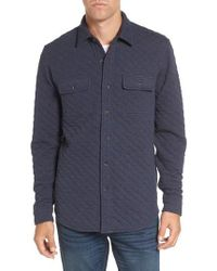 Tailor Vintage   Reversible Double-face Quilted Shirt   Lyst