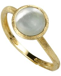 Marco Bicego - 'jaipur' Tourmaline & Pave Diamond Stackable Ring - Lyst