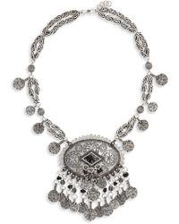 Saint Laurent - Marrak Berbere Collar Necklace - Lyst