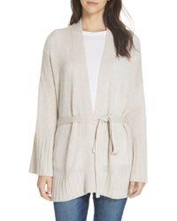 Autumn Cashmere - Belted Cashmere Kimono - Lyst