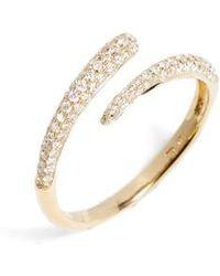 Bony Levy - Micro Pave Diamond Openwork Ring (nordstrom Exclusive) - Lyst