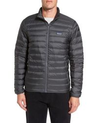 Patagonia - Water Repellent Down Jacket - Lyst