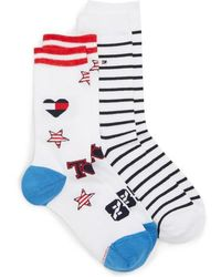 Tommy Hilfiger - 2-pack Crew Socks - Lyst