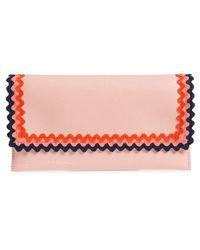 Loeffler Randall - Eveything Embellished Leather Wallet - Lyst