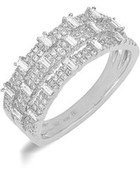 Bony Levy - Wide Diamond Ring (nordstrom Exclusive) - Lyst