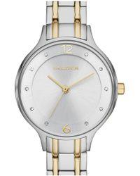 Skagen - 'anita' Crystal Index Bracelet Watch - Lyst