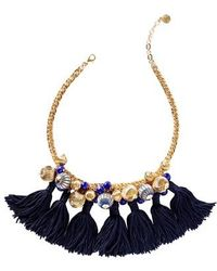 Lilly Pulitzer | Lilly Pulitzer Fringe Collar Necklace | Lyst