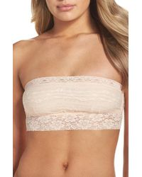 Free People - Scalloped Lace Bandeau - Lyst