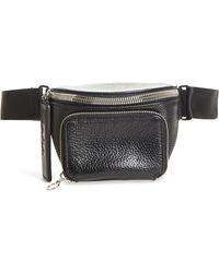 Kara - Leather Bum Bag - Lyst