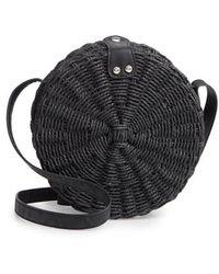 TOPSHOP - Barbar Straw Crossbody Bag - - Lyst