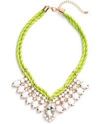 Adia Kibur - Teardrop Rope Necklace - Lyst