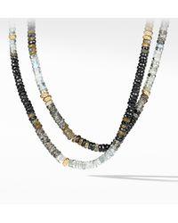 David Yurman - Tweejoux Necklace In 18k Gold - Lyst