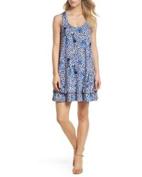 Lilly Pulitzer | Lilly Pulitzer Evangelia Sleeveless Racerback Dress | Lyst