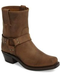 Frye | Harness Square Toe Engineer Boot | Lyst