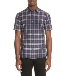 Burberry - Alexander Check Sport Shirt - Lyst