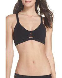 Hurley - Quick Dry Max Surf Bikini Top - Lyst