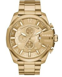 DIESEL | Diesel 'mega Chief' Chronograph Watch | Lyst