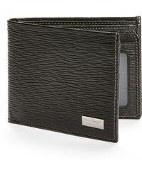 Ferragamo - Stamped Calf Wallet - Lyst