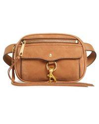 Rebecca Minkoff - Blythe Leather Belt Bag - Lyst