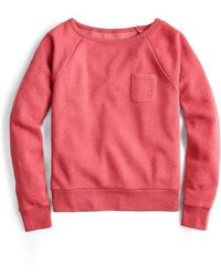 J.Crew - Pocket Sweatshirt - Lyst