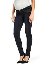 PAIGE - 'transcend - Skyline' Skinny Maternity Jeans - Lyst