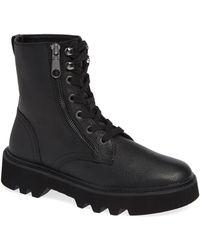 Calvin Klein - Diahne Combat Boot - Lyst