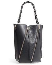 Proenza Schouler - Medium Hex Zip Leather Bucket Bag - Lyst