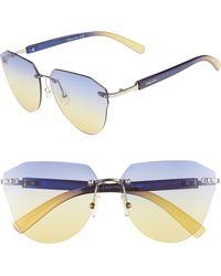 Circus by Sam Edelman - 60mm Rimless Cat Eye Sunglasses - - Lyst
