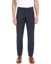 check out 8b5c7 936f8 Brax - Cooper Five Pocket Houndstooth Stretch Wool Trousers - Lyst