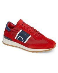 Philippe Model Toujours Panelled Sneakers - Red nmnf7WP