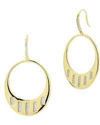 Freida Rothman - Radiance Cubic Zirconia Drop Earrings - Lyst