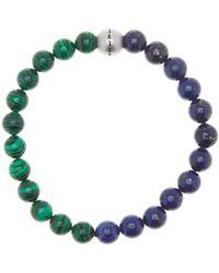 Steve Madden - Multicolor Glass Bead Stretch Bracelet - Lyst