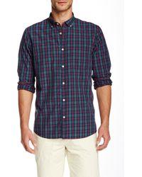 Color Siete - Long Sleeve Jones Tartan Checked Shirt - Lyst