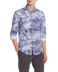 BOSS - Bertillo Front Button Trim Fit Shirt - Lyst
