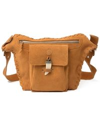 Raj Tanner Suede Belt Bag