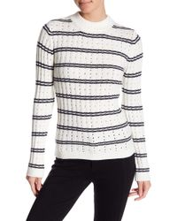 French Connection - Colorblock Rib Knit Jumper - Lyst