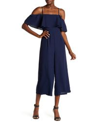19 Cooper - Cold Shoulder Jumpsuit - Lyst