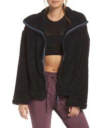 Free People - Dazed Fleece Jacket - Lyst