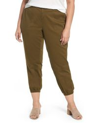 Sejour - Twill Jogger Trousers - Lyst