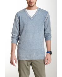 Autumn Cashmere - Inked V-neck Cashmere Sweater - Lyst