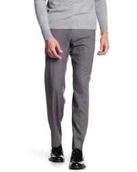 "Kenneth Cole Reaction - Stretch Heather Trousers - 29-34"" Inseam - Lyst"